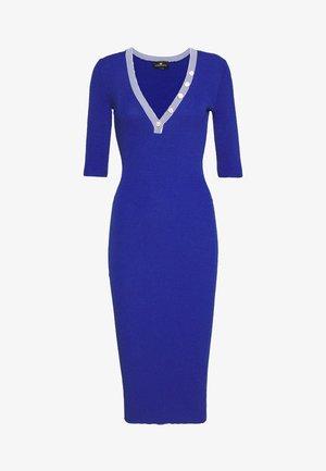 Pletené šaty - cobalto