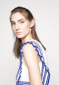 Elisabetta Franchi - Maxiklänning - avorio/cobalto - 5
