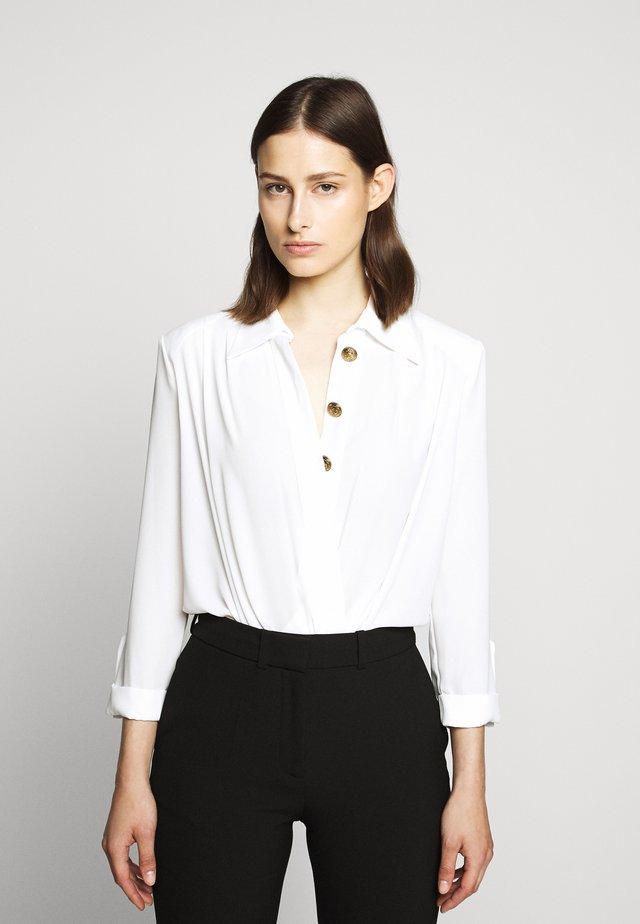Button-down blouse - avorio