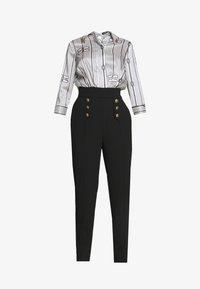 Elisabetta Franchi - Tuta jumpsuit - nero - 5