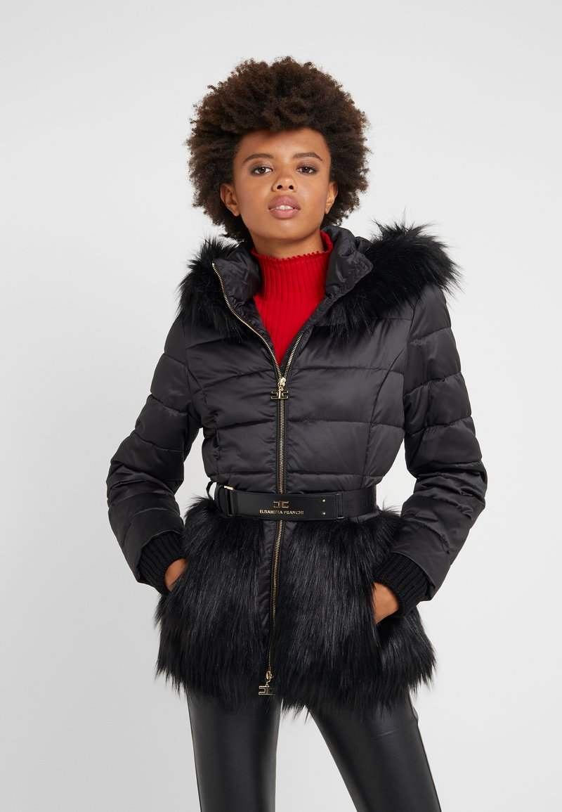 Elisabetta Franchi - Winter jacket - nero