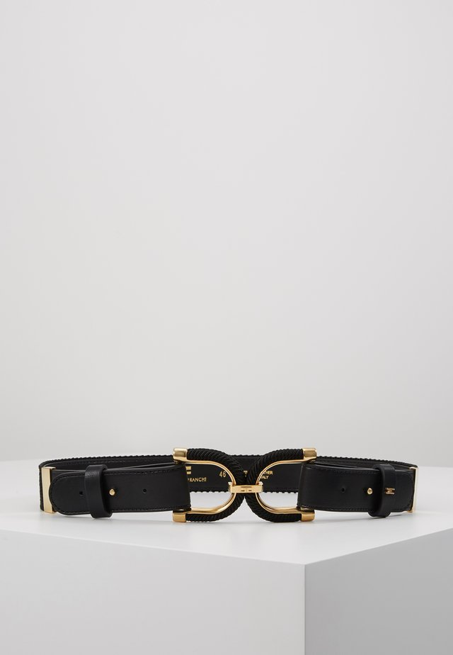 DRESS WAIST BELT - Taljebælter - nero