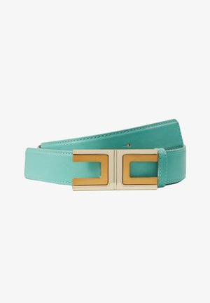 REGULAR LOGO BELT - Pásek - tiffany