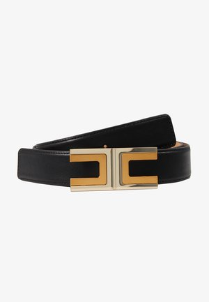 REGULAR LOGO BELT - Pásek - nero