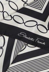 Elisabetta Franchi - FOULARD PRINTED - Foulard - burro/nero - 1