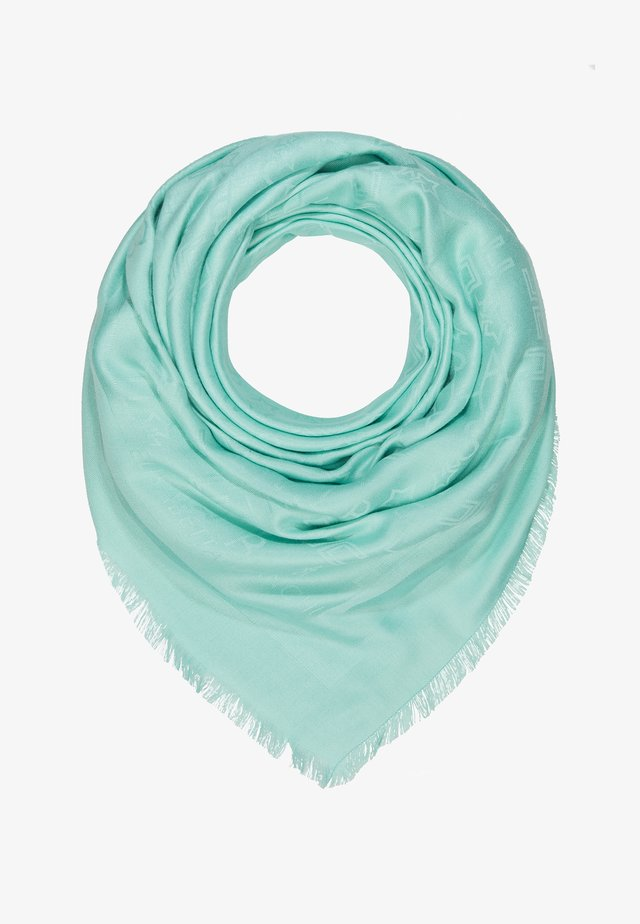 SOFT SQUARE SCARF - Chusta - tiffany