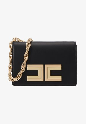 LARGE LOGO CHAIN STRAP - Across body bag - nero