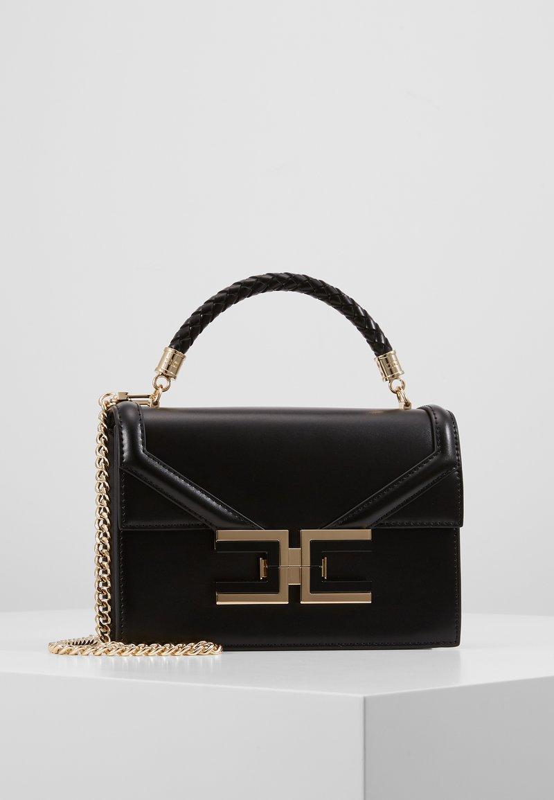 Elisabetta Franchi - MONOCHROME SATCHEL - Handbag - nero