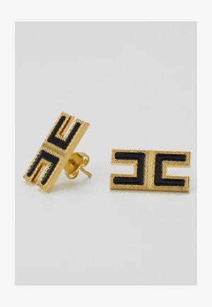 LOGO SQUARE STUDS - Earrings - nero