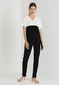 Envie de Fraise - LAETICIA - Jumpsuit - black/white - 1