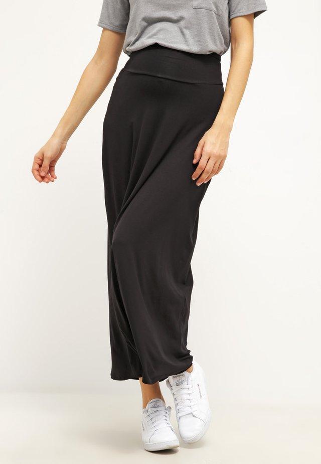 MARJORIE - Maxi skirt - black