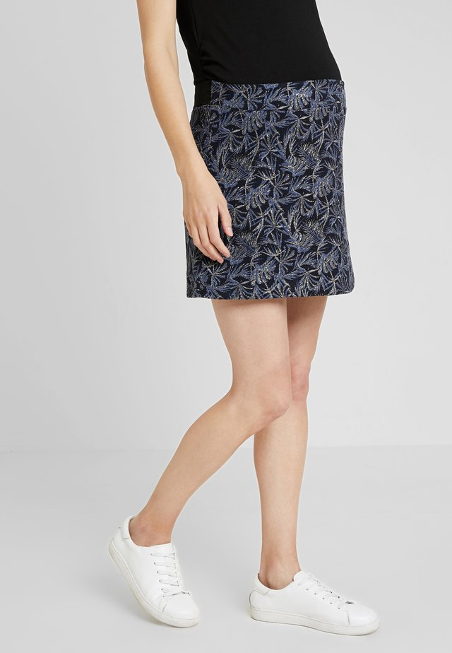 JULIE - A-line skirt - blue