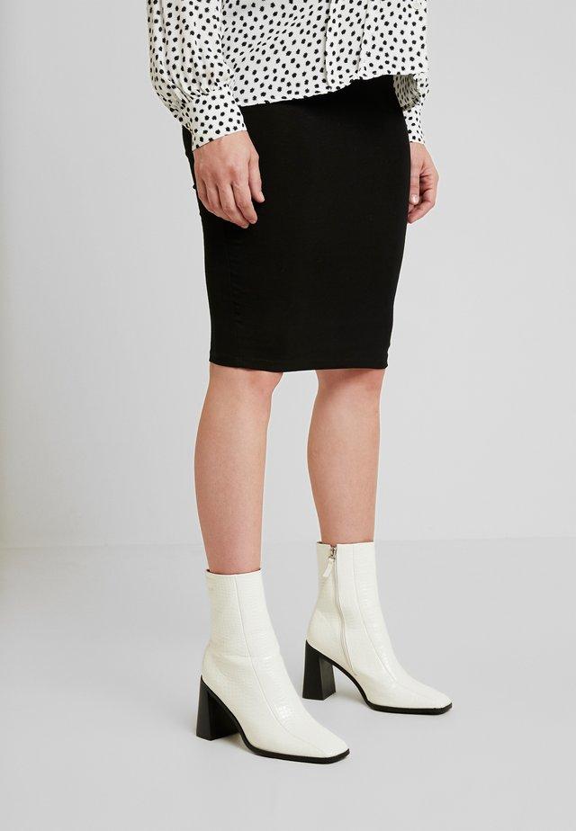 CINDY - Pencil skirt - black