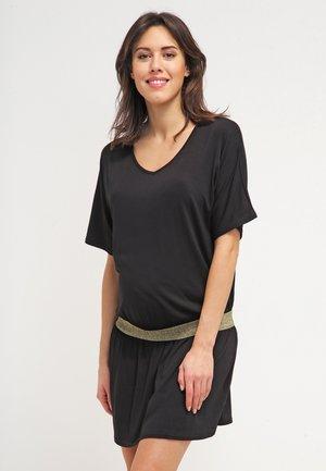 DANNYOR - Žerzejové šaty - black