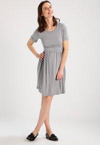 Envie de Fraise - LIMBO - Jersey dress - grey melange - 1