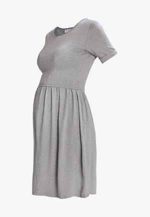LIMBO - Žerzejové šaty - grey melange