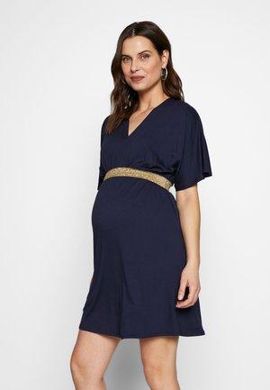 FELICINEOR NURSING - Žerzejové šaty - navy blue