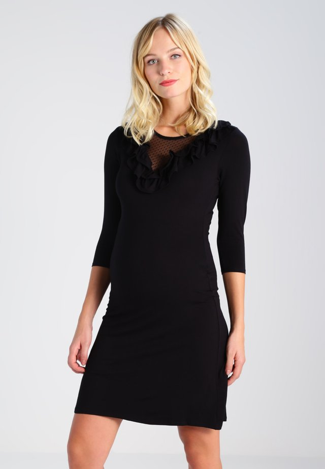 EMMA  - Jersey dress - black