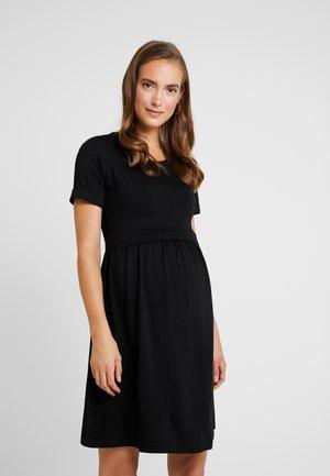 LIMBO - Vestito di maglina - black