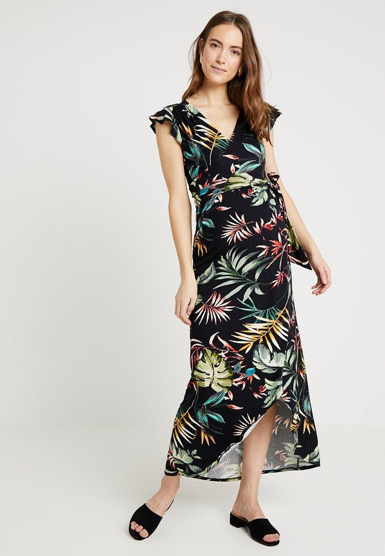 Envie de Fraise - ADELAIDE - Robe longue - black/multicolor