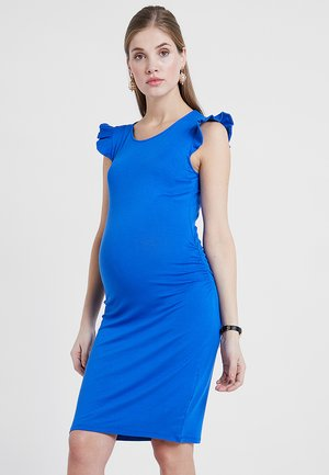AGNES - Jerseyklänning - blue