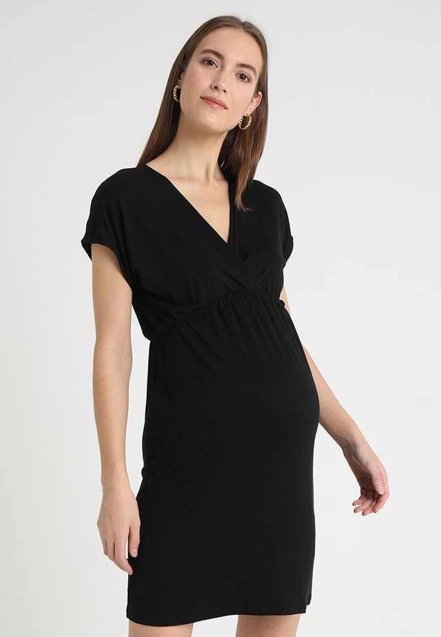 EVI - Jersey dress - black