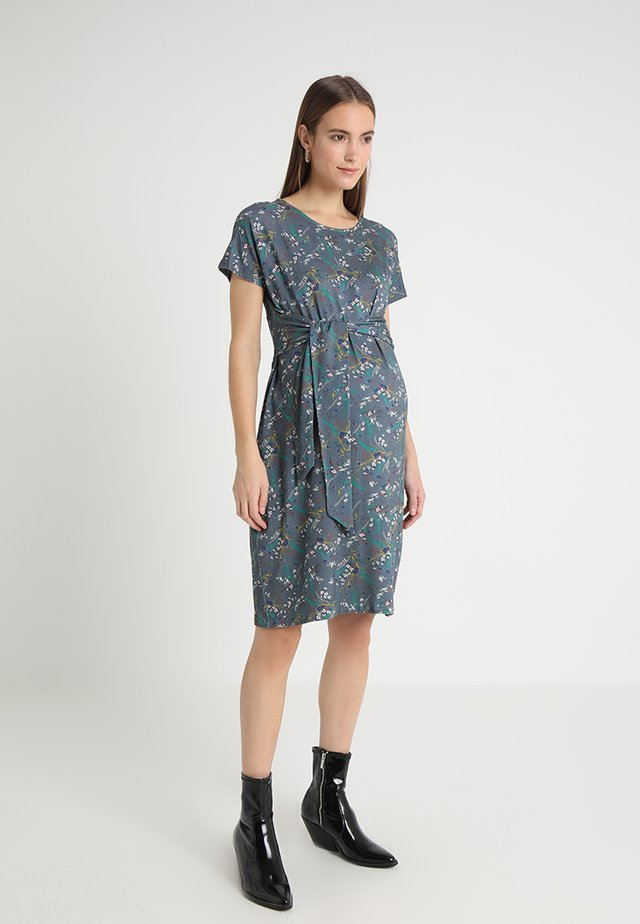 LEOPOLDINE - Jersey dress - blue/multicolor