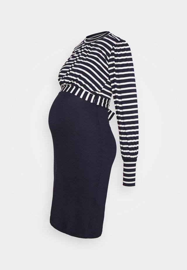 ROSELINE  - Robe en jersey - dark blue