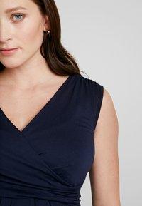 Envie de Fraise - DIVINE TANK MATERNITY DRESS - Sukienka z dżerseju - navy blue - 5