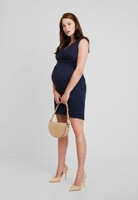 Envie de Fraise - DIVINE TANK MATERNITY DRESS - Sukienka z dżerseju - navy blue - 2