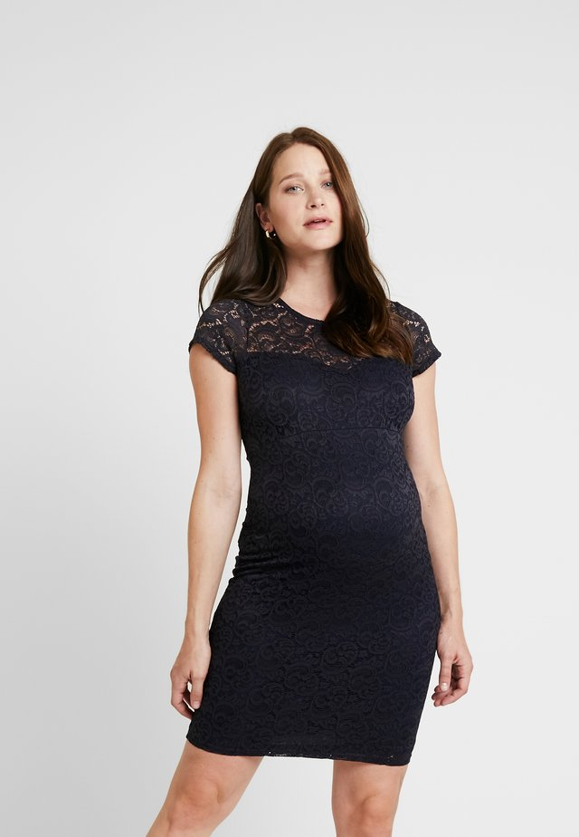ETOILE MATERNITY DRESS - Etui-jurk - navy blue