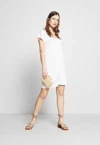 Envie de Fraise - EVI MATERNITY DRESS - Vestido ligero - off white - 1