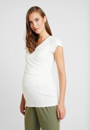 FIONA - T-shirt - bas - off white