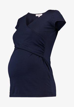 FIONA - Basic T-shirt - navy blue