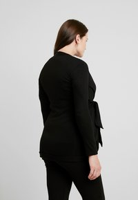 Envie de Fraise - MILONGA MATERNITY CARDIGAN - Kardigan - black - 2