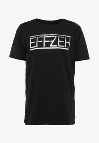Effzeh - LABEL FOIL  - Pelipaita - black - 3