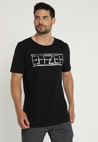 Effzeh - LABEL FOIL  - Pelipaita - black - 0