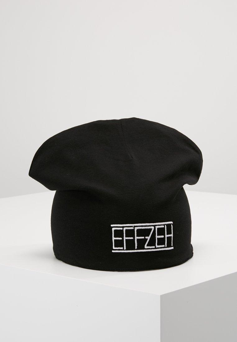 Effzeh - SUMMER BEANIE - Beanie - black/white