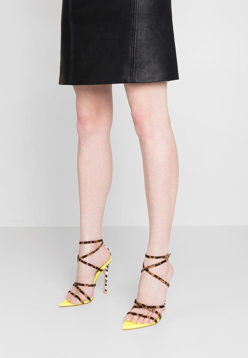 EGO - RAJA - High Heel Sandalette - yellow