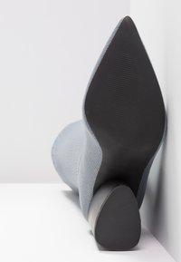 EGO - ROCCO - High Heel Stiefel - grey - 6