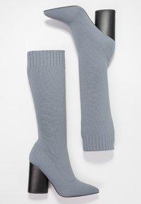 EGO - ROCCO - High Heel Stiefel - grey - 3