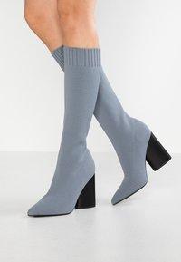 EGO - ROCCO - High Heel Stiefel - grey - 0