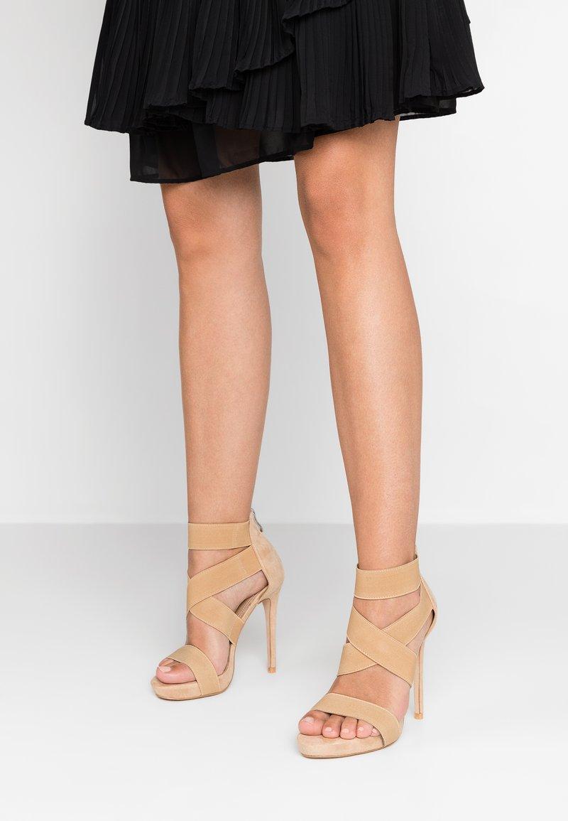 EGO - SKYLAR - Højhælede sandaletter / Højhælede sandaler - nude