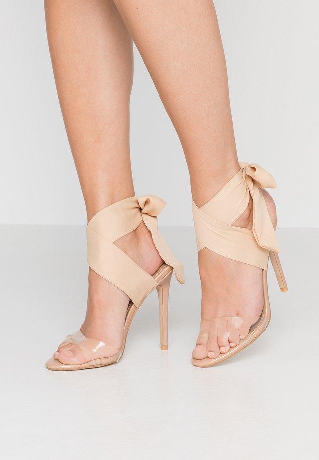 ZABI - Sandalen met hoge hak - nude