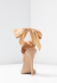 EGO - ZABI - Sandales à talons hauts - nude - 5