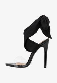 EGO - ZABI - Korolliset sandaalit - black - 1