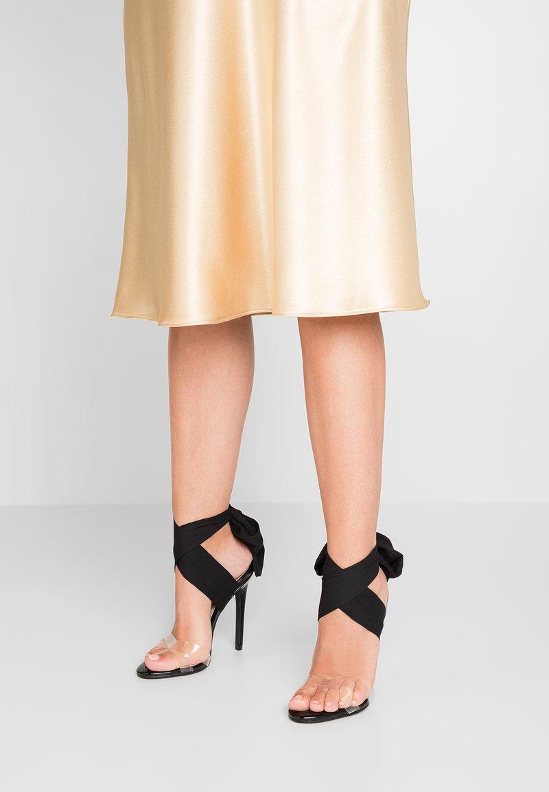 EGO - ZABI - Korolliset sandaalit - black
