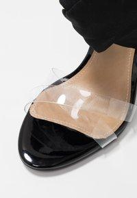 EGO - ZABI - Korolliset sandaalit - black - 2