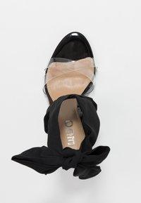 EGO - ZABI - Korolliset sandaalit - black - 3