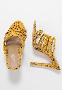 EGO - SAFFIYA - Heeled mules - yellow - 3